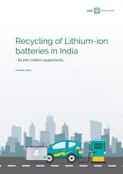 Recycling of Lithium ion batteries in India