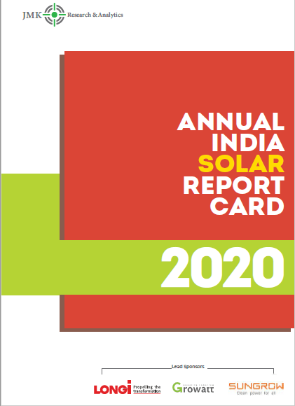 Annual India SolarReport Card- FY2020
