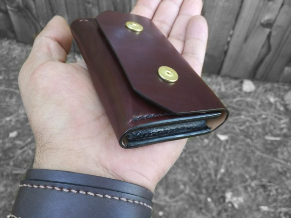 Double snap wallet