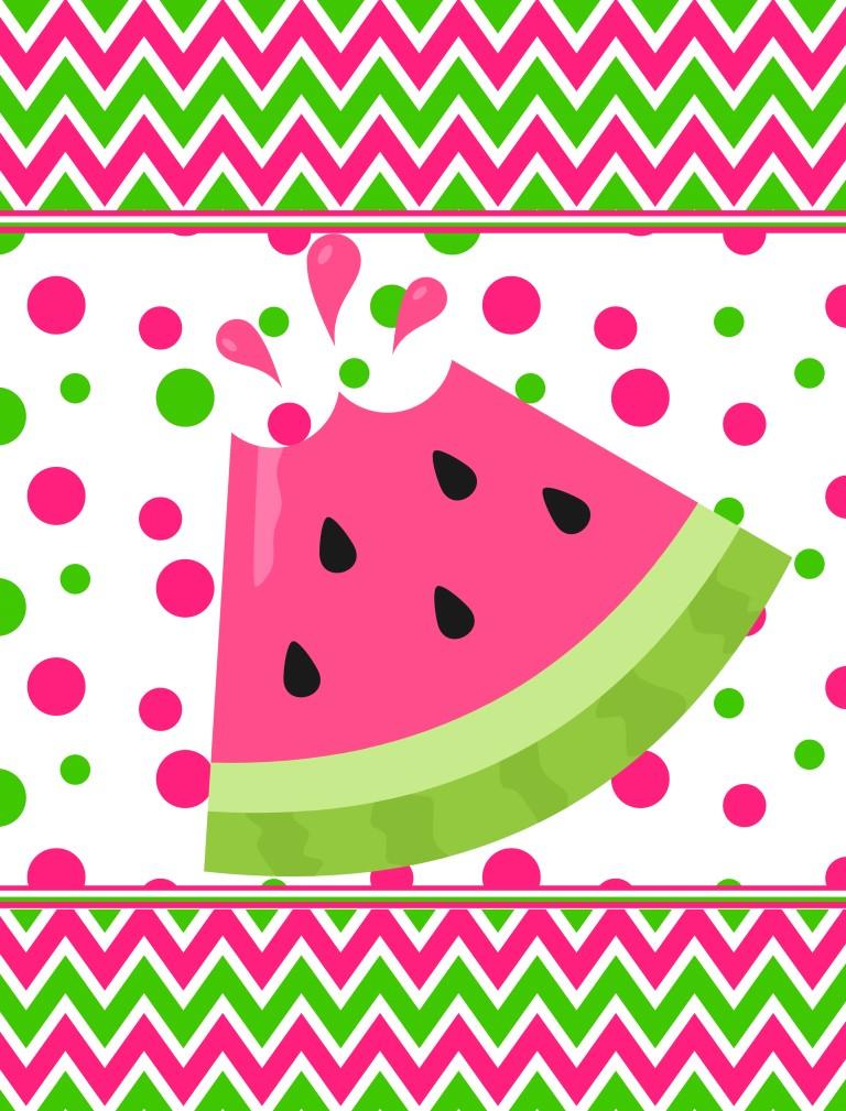 summer watermelon slice flag