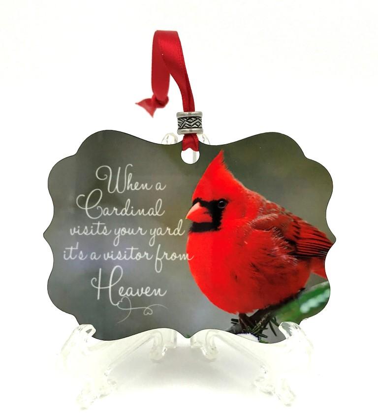 heaven cardinal ornament
