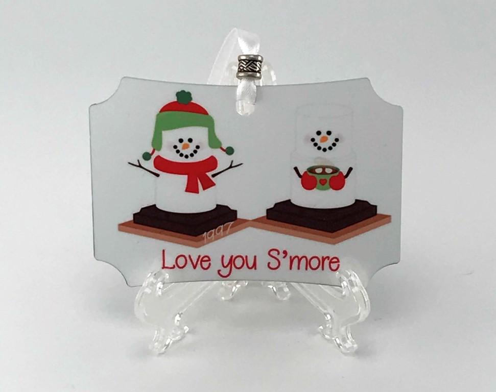 love you smore ornament
