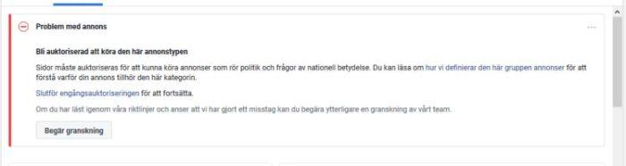 europaparlamentsvalet 2019_annonsering facebook_auktorisering