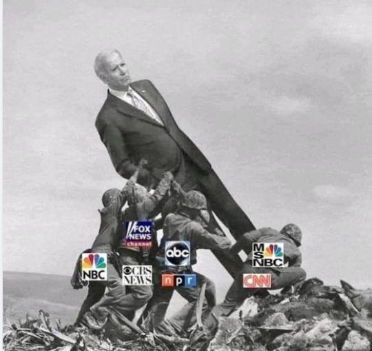 biden mainstrean media _valfusket usa_2020 trump