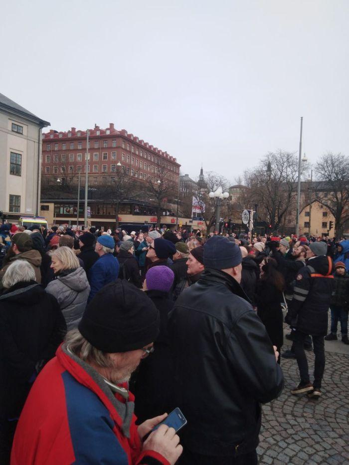 medborgarplatsen covid manifestatin