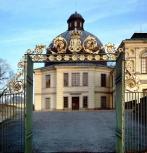 Entrada a la capilla del castillo de Drottningholm donde se celebrará el bautizo. (Foto: Kungahuset.se) - Pulsar para ampliar -