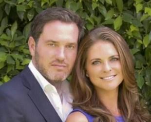 Magdalena se casa con sexto novio, el millonario británico estadounidense Christopher O'Neil (Foto: Kungahuset.se)