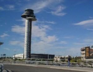 Torre de control aéreo de Arlanda, Estocolmo (Foto: archivo)