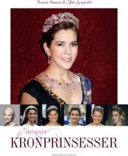 Portada del libro «Europas Kronprinsesser» - Las princesas Herederas de Europa - (Foto Editorial Promo)