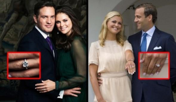 A la izquierda, Magdalena de Suecia con su actual prometido Christopher O'Neill. A la derecha, con Jonas Bergström en Agosto del 2009. (Fotos: Kungahuset.se)