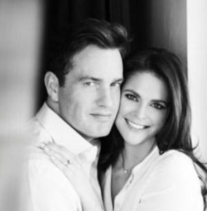 Foto del día del anuncio del compromiso de Magdalena de Suecia y Christopher O'Neill. (Foto: Kungahuset.se)