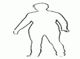 Silueta de mujer bailando durante periodo menstrual. (Foto: captura vídeo estudio)