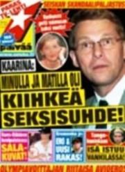 Los medios se hacen eco de «Kaarina», la amante secreta del primer ministro Matti Vanhanen. (Foto: Portada revista)