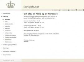 Comunicado oficial en la pagina web de la Casa Real. (Foto: Captura de pantalla) - PULSAR PARA AMPLIAR -