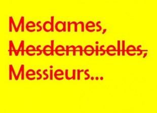 Las palabras francesas «mademoiselle» (señorita) o «mesdemoiselles» (señoritas) están ahora prohibidas en Francia. (Foto: ilustración)