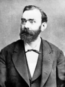 Alfred Nobel, fundador de los premios Nobel e inventor de la dinamita. (Foto: archivo)