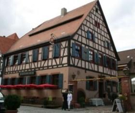 La antigua y restaurada posada de «Zum Güldenen Stern» en Ladenburg. (Foto: Zum Güldenen Stern)
