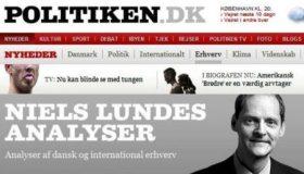 El artículo de Niels Lunde en el diario danés Politiken.