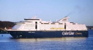 El ferry «M/F Color Fantasy» que hace la ruta entre Kiel (Alemania) y Oslo (Noruega) (Foto: Wikipedia C)