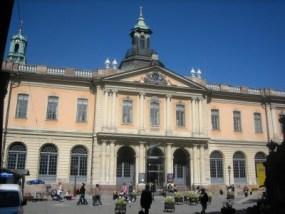 Real Academia de las Letras de Suecia. (foto: archivo)