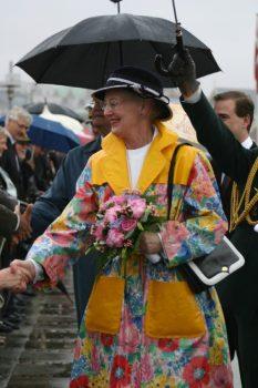 La soberana danesa suele sorprender con ropa diseñada por ella misma. (Foto: © M.Mielgo - JM Noticias)