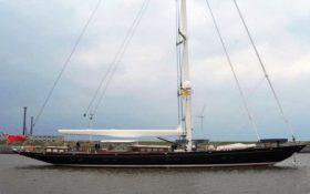 El yate «Erika XII» está valorado en 30 millones de Euros. (Foto: Yards )