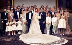 El rey Carlos XVI Gustavo pagó de su bolsillo casi 7,5 millones de coronas, (803.000 euros), de los gastos de la boda de su hija la princesa Magdalena con Christopher O'Neill. - Foto: Kungahuset.se