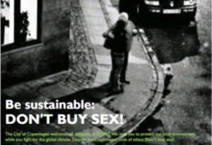 La postal que ha puesto en pie de guerra a las prostitutas de Copenhague. (Foto: medios)