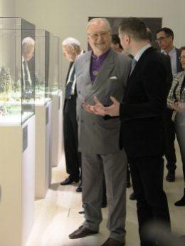 La última aparición pública de Henrik de Dinamarca fue en la inauguración de la exposición de sus figuras de jade en el castillo de Koldinghus en enero 2017. (Foto © M.Mielgo - JM Noticias)