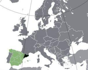Cataluña es la región española al noreste de la península ibérica donde una minoría adoctrinada por políticos facinerosos exige separarse de España. (Foto: Wikipedia Commons)