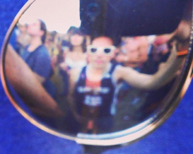 Sunglasses Self-portraits at ACLfest