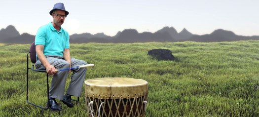 Mo on drum in feild
