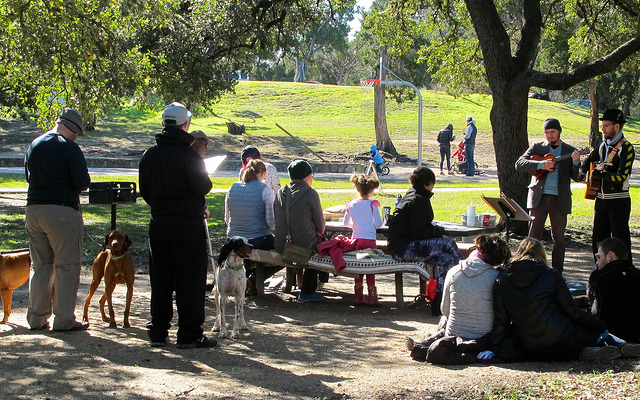 January 2015 Singalong at Little Stacy Park