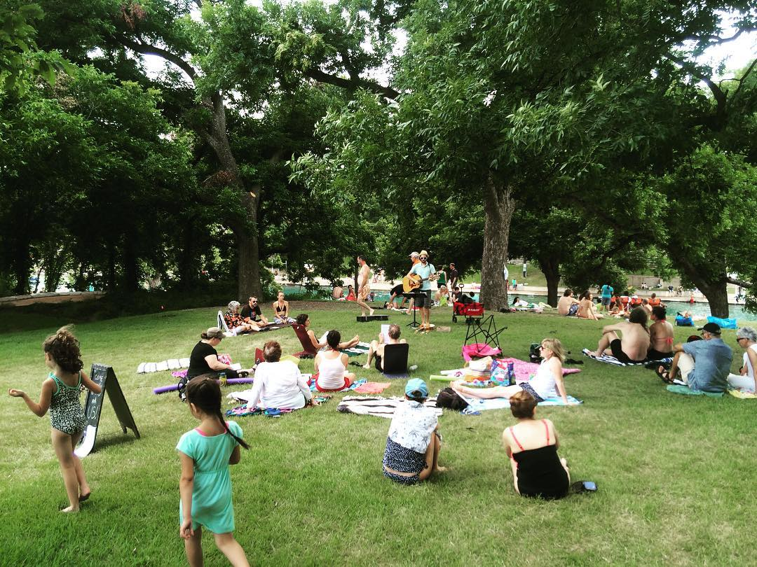 Barton Springs singalong