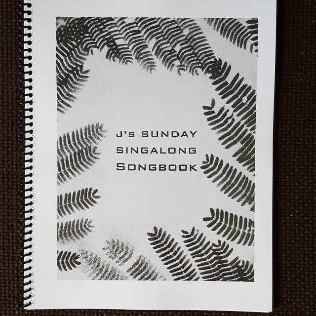 Singalong Songbook cover