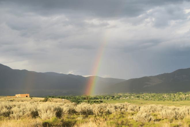 Taos rainbow
