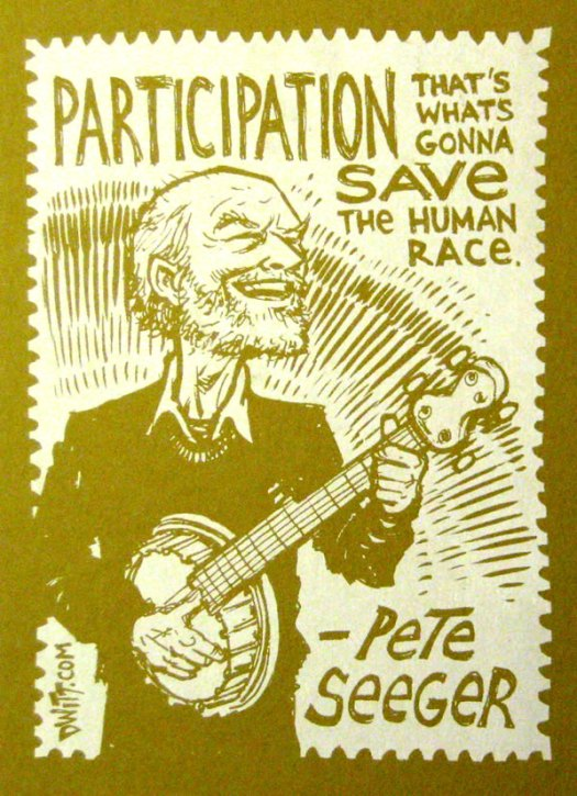 Pete Seeger w quote