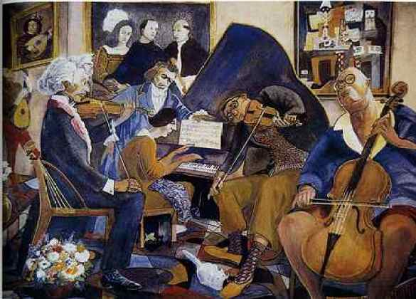 Paul Travis (1891-1975), Piano Quartet, 1951