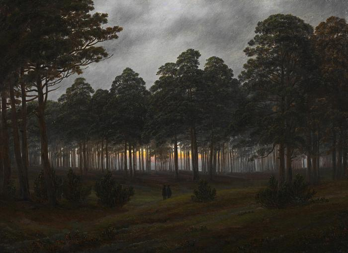the-times-of-day-the-evening-caspar-david-friedrich