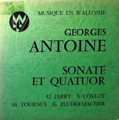 Georges Antoine, ancien enregistrement, 1975
