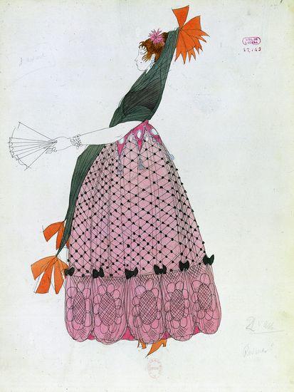 17. Rosine dans le Barbier de Rossini, représenté à l'Opéra de Paris en 1833