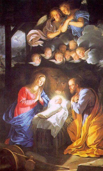 31. Philippe de Champaigne, Nativité, XVIIème S
