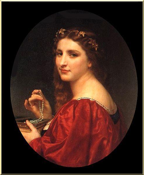 41. W. Bouguereau, Marguerite et les bijoux