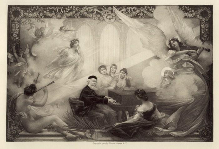 77. Gravure d'après G. Dubufe (1906)