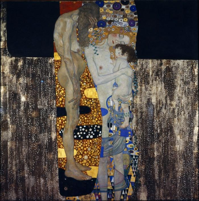 Blog 2701 Gustav Klimt, Les Trois Âges de la Femme, 1905.