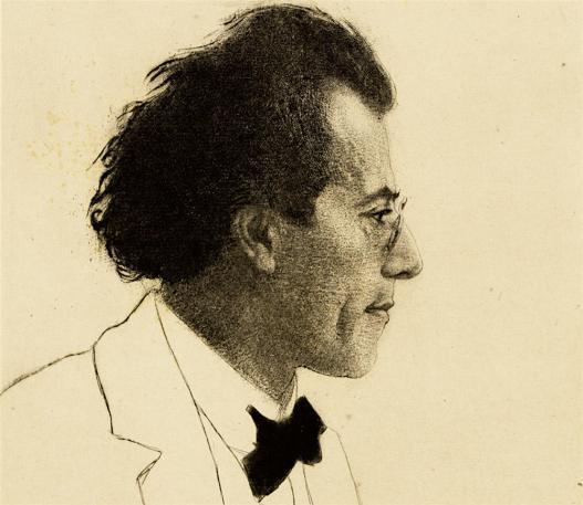 Blog 2701 Gustav Mahler, par Emil Orlik, 1902