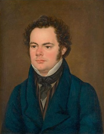 Portrait de Franz Schubert en 1827 (attribué à Anton Depauly)