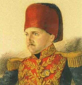 45. Giuseppe Donizetti (1788-1856), frère de Gaetano au service du sultan de Constantinople