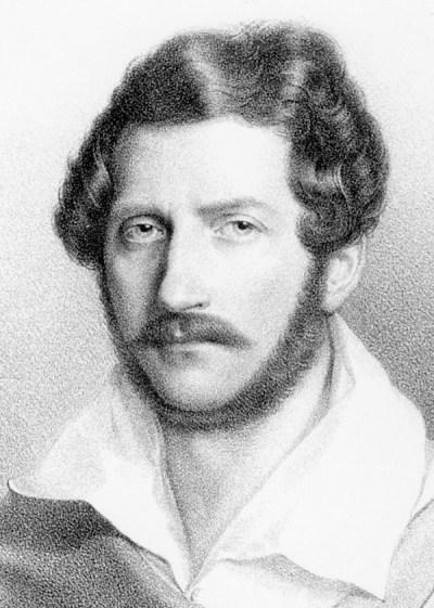47. Portrait du compositeur Gaetano Donizetti (1797-1848)