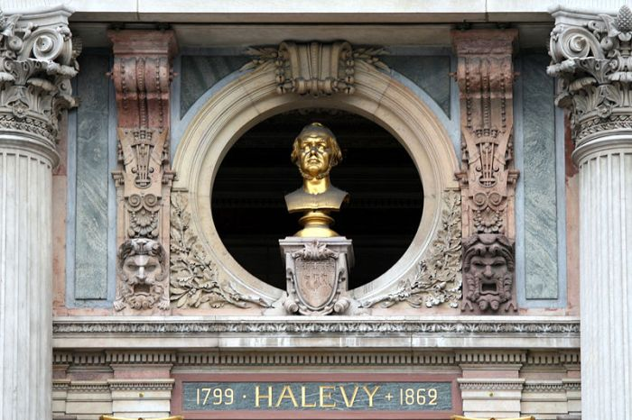02. Buste de Halévy à l'Opéra de Paris